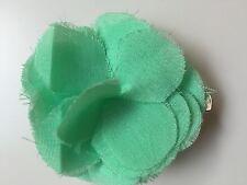 Alannah Hill Small Green Flower Hair Clip Fascinator