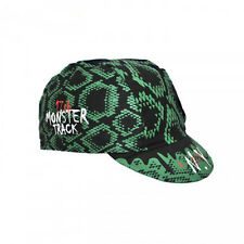 """NEW Cinelli """"Monster Track"""" Cotton Cycling Cap - ONE SIZE - fixed track"""