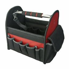 Fabric Tool Bag with Metal Handle