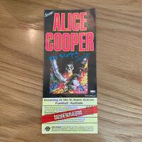 Alice Cooper 24 Oct 1991 Festhalle Frankfurt concert Ticket Stub