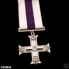 MILITARY CROSS GEORGE V MEDAL AWARD FOR GALLANTRY ALL RANKS RAF RN RM REPRO NEW