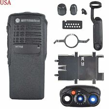 Black Replacement Repair Case Housing for motorola HT750 Portable radio USA