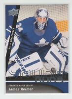 (69653) 2009-10 UPPER DECK YOUNG GUNS JAMES REIMER #493 RC