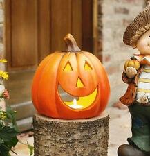 großes Kürbiswindlicht Maxi, Herbstdekoration, Halloween, Kürbis, Windlicht