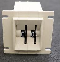 ROBOTRON PB DDR Vorwahlzähler 2-stellig A310 10 85 Platine 33345 gebraucht