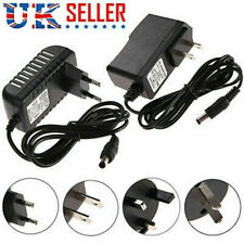 AC 100-240V to DC Power Supply Charger Adapter Converter Cord Cable 5.5mm*2.1mm