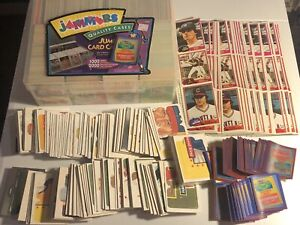 Huge BASEBALL MLB STICKERS Lot Over 1,500 Plus Puzzles and 81 Topps Uncut Panels