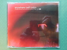 Beth Orton 'Anywhere/Beautiful World' enhanced video CD (2002) Collectable