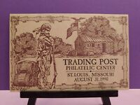 TRADING POST PHILATELIC CENTER-ST. LOUIS, MO-AUGUST 31, 1990-FIRST DAY OF ISSUE