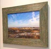 Sand Dunes Fine Art Photography Photo Print In Frame. Nature Beach Ocean Sky