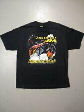 Vintage Arctic Cat 1 M Mountain Cat T-shirt Size XL Faded