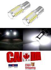 2x 1157 BA15D White LED 33SMD 5630 Car Reverse Backup Signal Lights DRL
