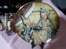 "Franklin Mint Little Rascal Decorative plate, ""silly sultans"""