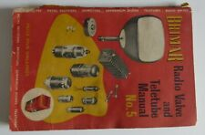 'Brimar Radio Valve and Teletube Manual' No 5  from the 1950's