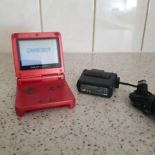 Nintendo Game Boy Advance GBA SP Rot Handheld-Spielkonsole