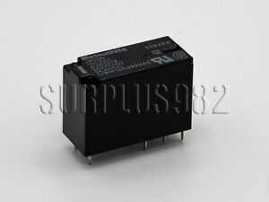 Relay Relè 24VDC doppio scambio DPDT Matsushita/Panasonic JW2SN-DC24V 5A 250VAC
