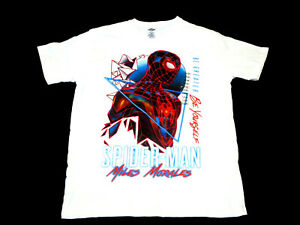 Spider-Man Miles Morales Into the Spider Verse BE GREATER Graphic T-Shirt NWT
