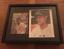 Ernie Banks CHICAGO CUBS Magazine Photo LOT WORLD SERIES MANCAVE