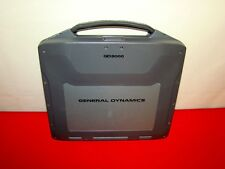 General Dynamics GD8000 Rugged Laptop CORE 2 DUO 1.86GHz 4GB RAM FOR PARTS