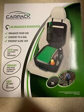 NEW Carpack Car Organizer Keep Things Accessible and Organized Converts to a Bag
