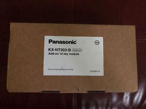 Panasonic KX-NT303 B 12 Button Add On Module  (NEW)