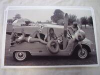 1968 - 1970 CITROEN MEHARI & MODELS  11 X 17  PHOTO PICTURE