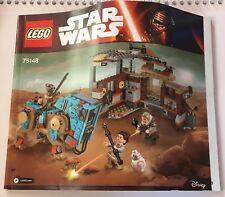Lego Star Wars Instruction Booklet 75148 Encounter on Jakku Free Shipping