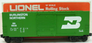 Lionel 6-9608 Burlington Northern Hi-Cube Boxcar EX/Box