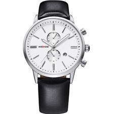 WEIDE Mens Date Day Alarm Digital Sports Steel Quartz Military Wrist Watch + Box