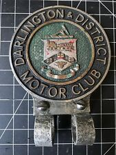 Darlington & District Motor Club Car Badge