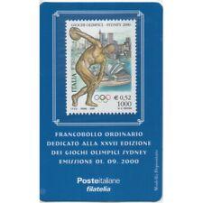 2000 Tessera Philatelie Unif. N.56 - Sidney Sport & Olympiade Diskuswerfer MF61