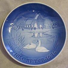B&G Bing & Grondahl Denmark Christmas Plate 1974 Christmas In The Village #9074