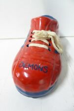 MELBOURNE DEMONS VFL FOOTBALL CLUB SHOE BOOT MONEY BOX