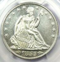 1855-O Arrows Seated Liberty Half Dollar 50C - PCGS AU Details - Rare Date Coin