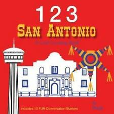 123 San Antonio: A Cool Counting Book by Puck (Board book, 2013)
