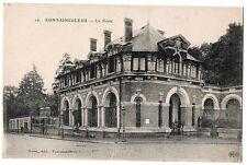 CPA 77 - FONTAINEBLEAU (Seine et Marne) - 16. La Poste - ELD