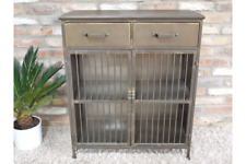 Industrial Factory Style Metal Storage Cabinet / Small Sideboard 77cm Wide