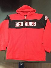 Detroit Red Wings Youth XL 18/20 Zip Front Hoodie .  Lions Tigers Jersey Datsyuk