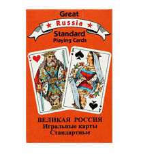 Russian Standard PLAYING CARDS 55 Cards Deck Classic Set Made in Austria
