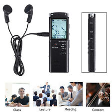 More details for 16gb professional digital sound audio recorder recording mp3 player rechargeable