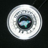"""Australien 1 Dollar 2020 """"Australian Opal Series """"Mouse"""" #F3743 PP-Proof 5.000"""