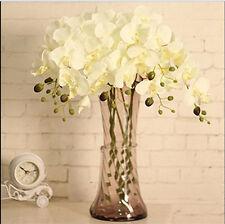 UP Butterfly Orchid Silk Flower Bouquet Phalaenopsis Wedding Home Decor BM