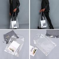 54565b4d7c Beach Clear Transparent Bathing PVC Plastic Shopping Bag Tote Handbag  Waterproof