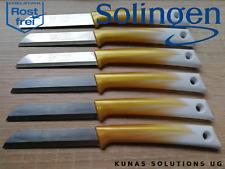6X SOLINGEN Obstmesser EDELSTAHL 8,5 cm Sägemesser mit RG von einer Firma