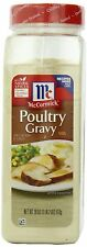 McCormick Poultry Gravy Mix 18 oz - Sauce Seasoning Flavor Cooking Spice Natural