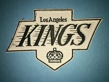 Rare Gretzky Era Los Angeles Kings Hockey Jersey Shoulder Hipster Jacket Patch B