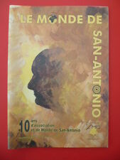 """Magazine """"le monde de San-Antonio"""" n°40 - printemps 2007"""