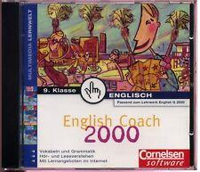 Englisch Coach 2000 9. Klasse - passend zum Lehrwerk Englisch G 2000 - Cornelsen