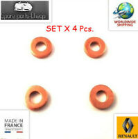 4X Fuel Injector Copper Washers Renault Laguna Megane Trafic 1.9dCi 7703062072