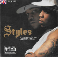 STYLES - A GANGSTER AND A GENTLEMAN - NEW SOUND TRACK CD